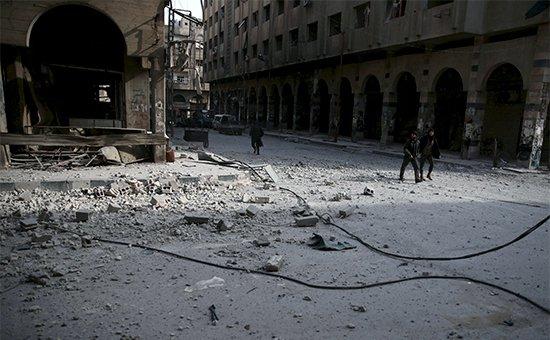 Израильские ВВС атаковали пригород Дамаска