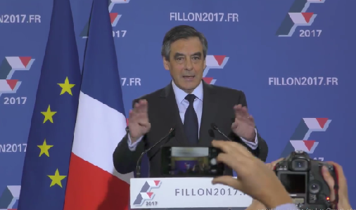 Французы ожидают победы Фийона над ЛеПен вовтором туре выборов президента