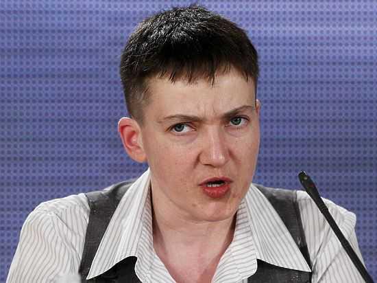 Надежда Савченко вновь объявила голодовку