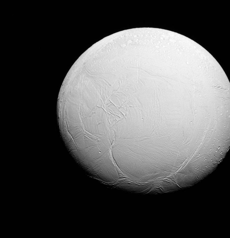 Ледяной спутник Сатурна - Энцелад