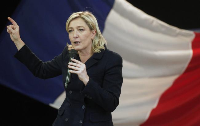 Марин Ле Пен: политика Путина — пример для Франции