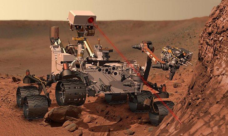 Европейское космическое агентство выбрало место посадки марсохода