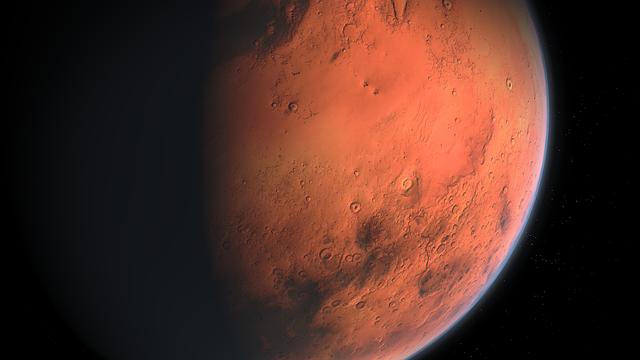 Ученые полагают, что в летнее время на Марсе можно наблюдать «парящий песок»