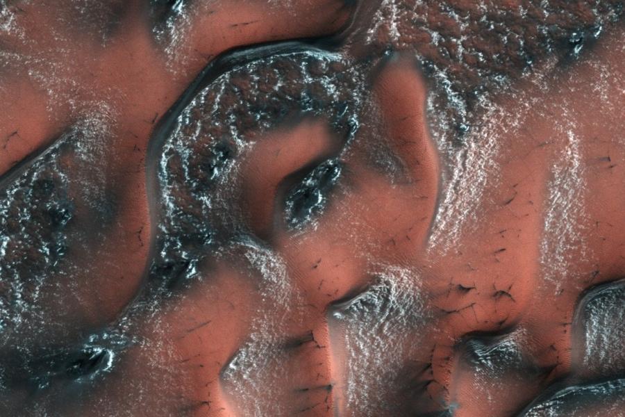 НаМарсе найдены самые большие  запасы воды