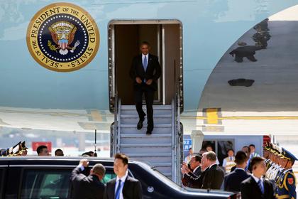 Военная агентура США извинилась затвит оприеме Обамы ваэропорту Ханчжоу