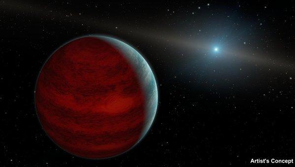 Ученые определили как экзопланета HD 106906 b смогла оказаться так далеко от своей звезды