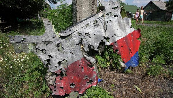 В Нидерландах полицейский уволен за продажу вещей со сбитого на Украине Boeing