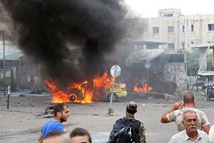 СмертникиИГ атаковали сирийские города Тартус иДжаблу. Погибли неменее 120 человек