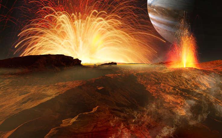 Ученые доказали существование на Венере вулканической активности