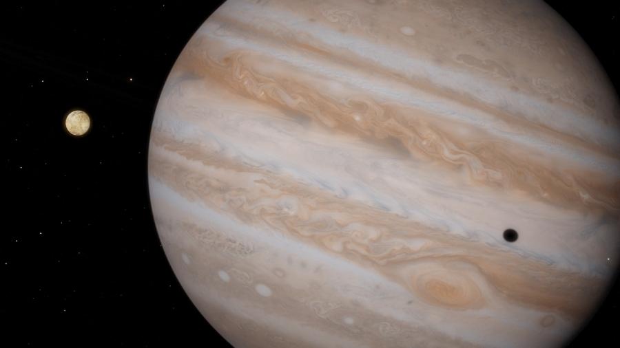 Ученые выяснили, как «большое пятно» Юпитера стало красным