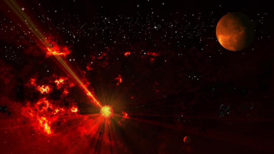 Ученые обнаружили первые следы пролетевшей через Солнечную систему звезды