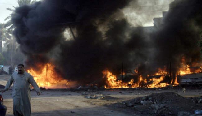 ВБагдаде в итоге  взрыва два человека погибли, шесть ранены