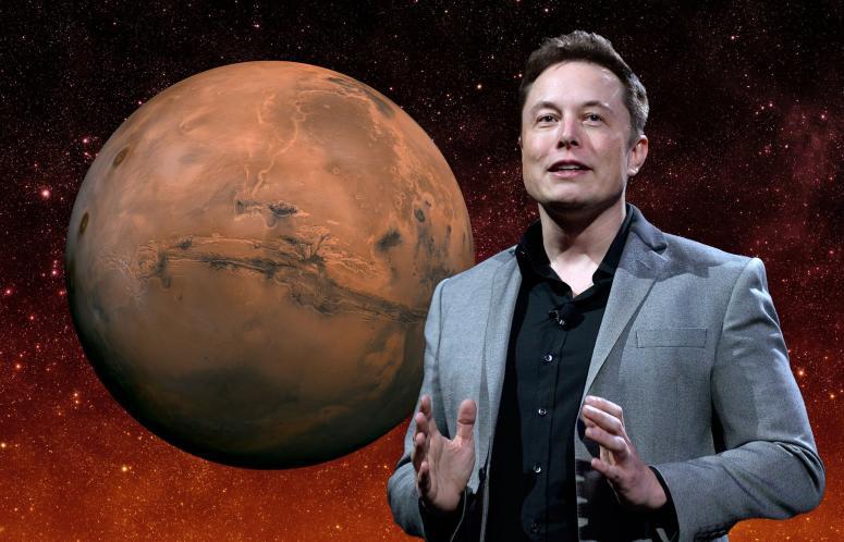 Сторонники теории «плоской Земли» проконсультировали Илона Маска поповоду формы Марса