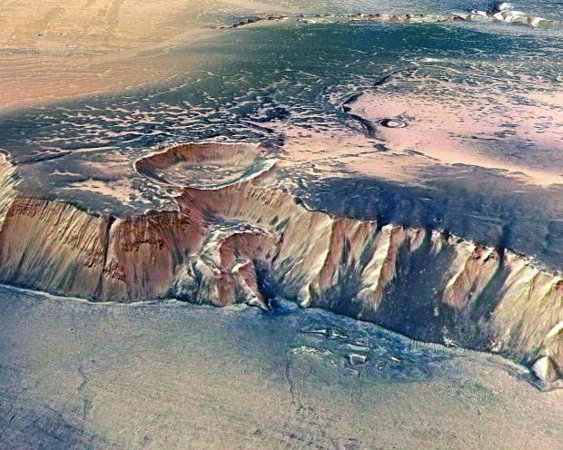 Вэпоху динозавров наМарсе текла вода изарождались океаны— Астрономы