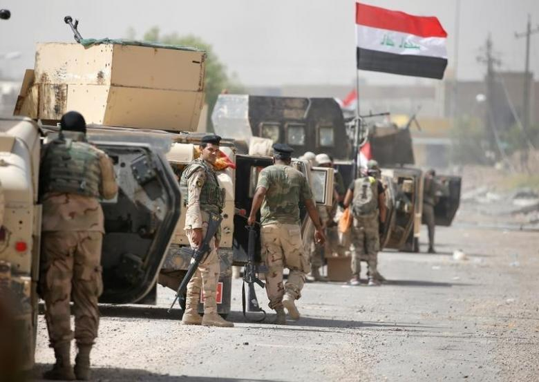 Армия Ирака освободила отИГИЛ центр города Шергат вблизи Мосула