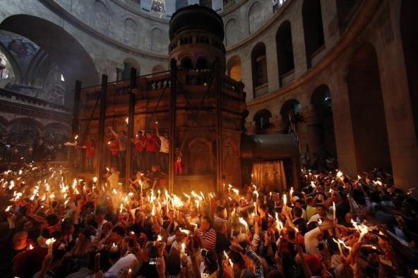 ВИерусалиме археологи вскрыли могилу Христа в монастыре Гроба Господня