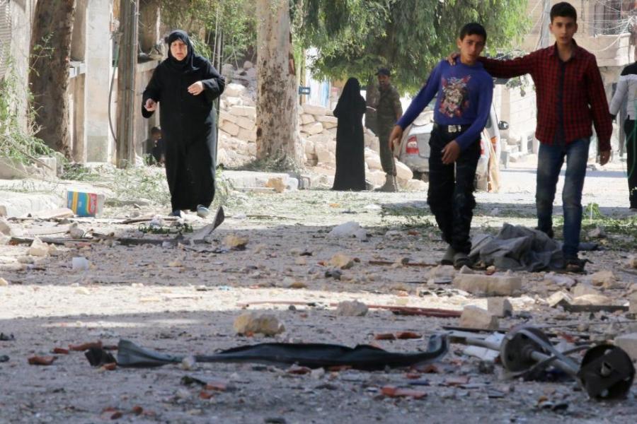 Террорист-смертник подорвал себя всирийском городе Хама
