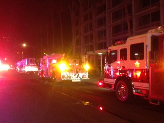 Взрывом вжилом комплексе ранило около 20 американцев