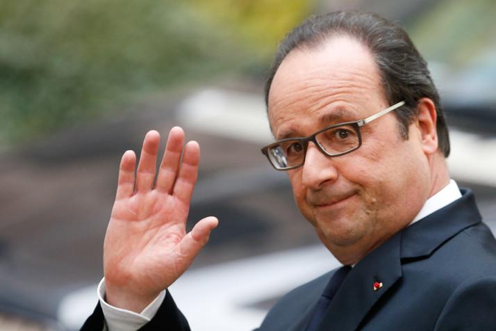 Олланд попросит у Владимира Путина помощи впереговорах поСирии