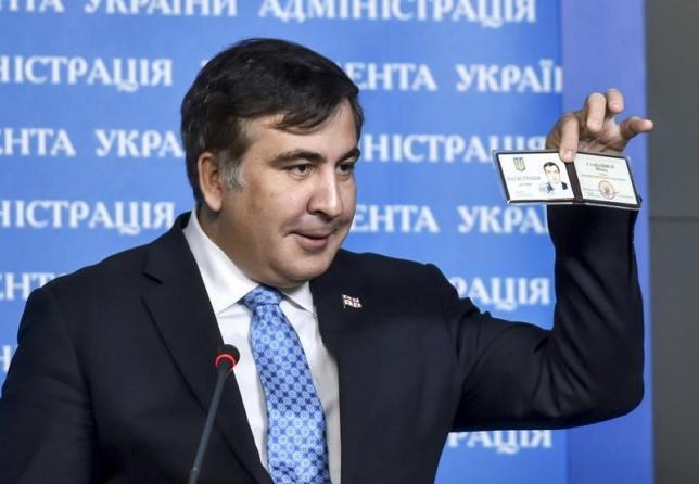 ВТбилиси потребовали экстрадировать Саакашвили изУкраины
