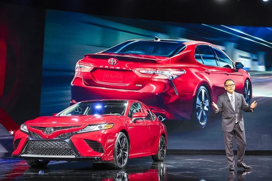 Тоже Camry: Тойота показала модель для беспощадных боев