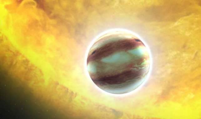 Ученые обнаружили планету сосадками изсапфиров ирубинов