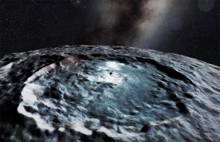 Ученые установили, что внутри планеты Церера— крупное ядро