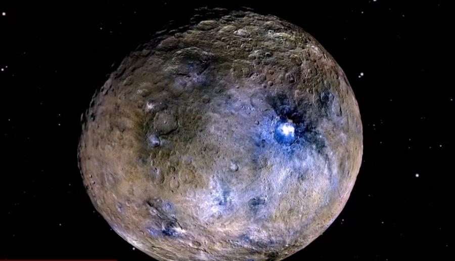 Наповерхности Цереры найдены инопланетные материалы— Ученые