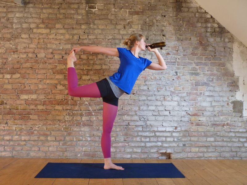 Вмире набирает популярность пивная йога