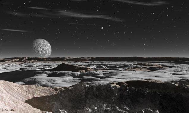 ВNASA рассказали о огромной ледяной башне наПлутоне