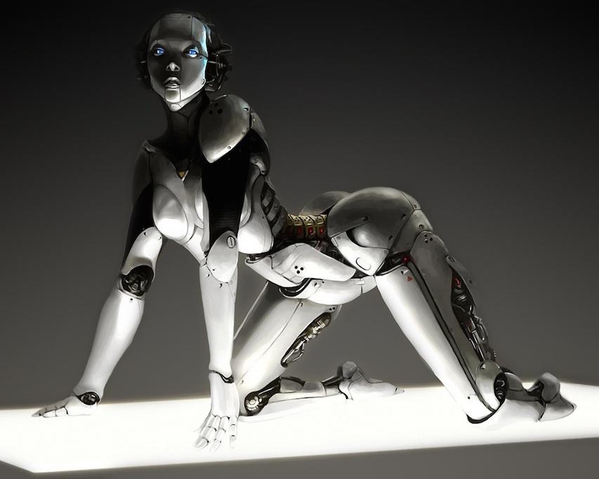 Секс новые роботы