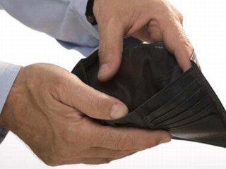Долги предприятий по зарплате выросли в два раза.