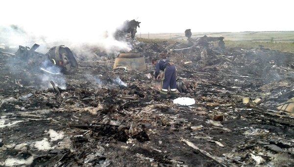 Власти ФРГ знали обопасности полетов над Украиной докрушения Boeing