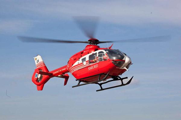 Вгорах Словакии разбился вертолет скорой помощи