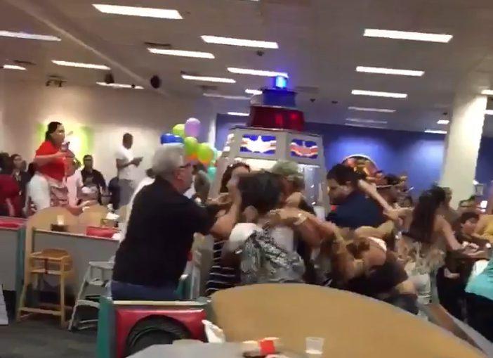 ВСША детский праздник завершился массовой потасовкой родителей